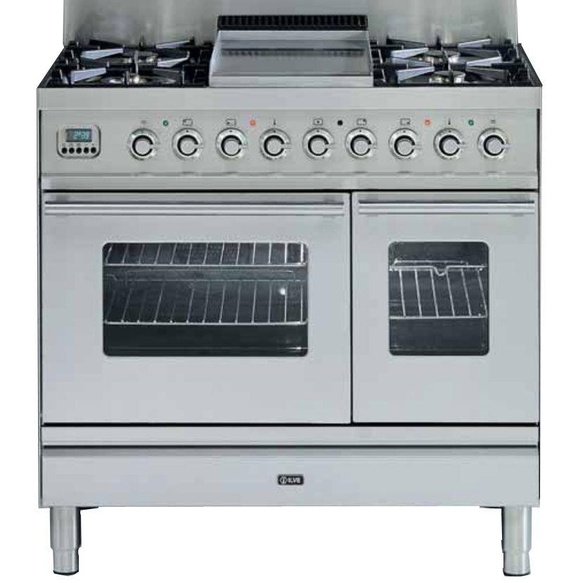 Pianos de cuisson Professional Plus, finition Hi Tech, 2 fours   1 x 60 cm  multifonction ou gaz ventilé, 1 four électrique 30 cm a39ef725de0d