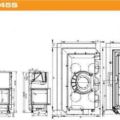 AUSTROFLAMM 89x49x45S - 89x49x57S - Ets Bonnel