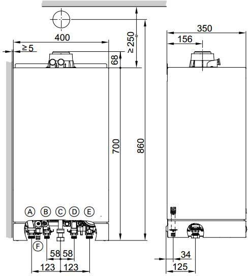 superior chaudiere gaz viessmann 4 248 1720 zoomed chaudiere gaz condensation murale vitodens. Black Bedroom Furniture Sets. Home Design Ideas