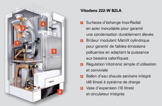 Ets bonnel chaudi re gaz viessmann vitodens 222w et 222f - Chaudiere a condensation ou pas ...