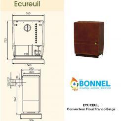 FRANCO BELGE Ecureuil - Ets Bonnel