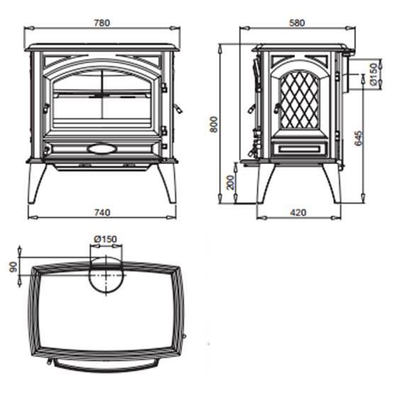 ets bonnel dovre 760 cbe. Black Bedroom Furniture Sets. Home Design Ideas