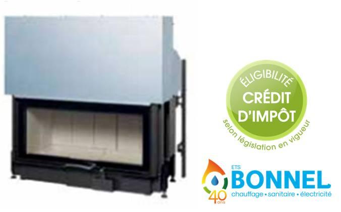 Ets bonnel austroflamm 97x45s - Credit d impot climatisation reversible ...