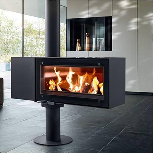 poele a bois biface obtenez des id es de design int ressantes en utilisant du. Black Bedroom Furniture Sets. Home Design Ideas