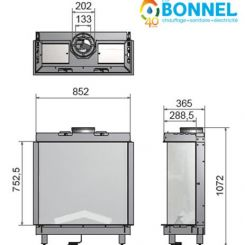 WANDERS Lenga 800 (dimensions) - Ets Bonnel