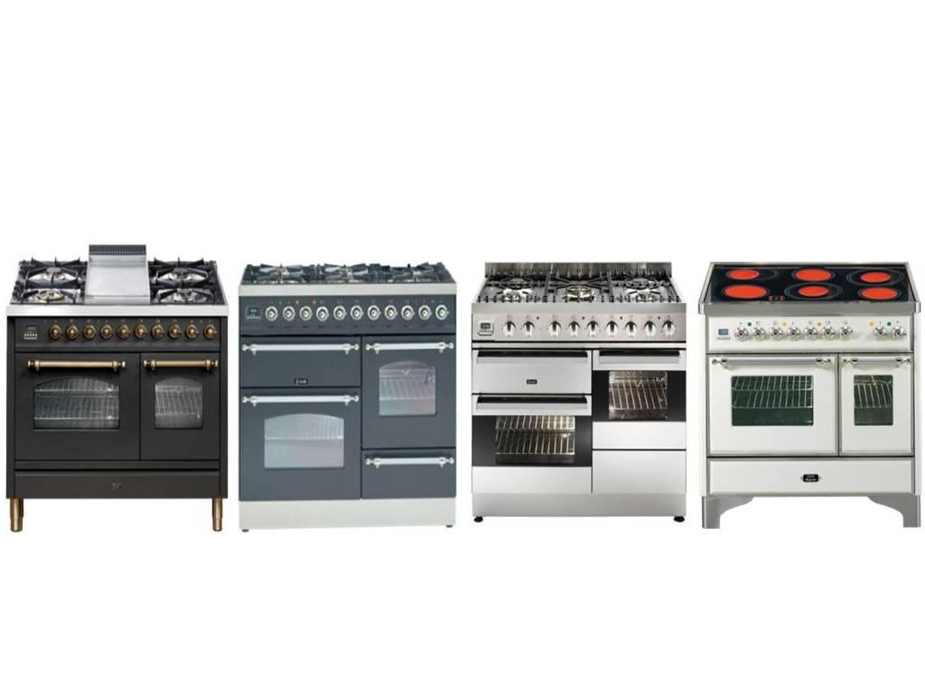ILVE pianos de cuisson 100 cm - 2 ou 3 fours
