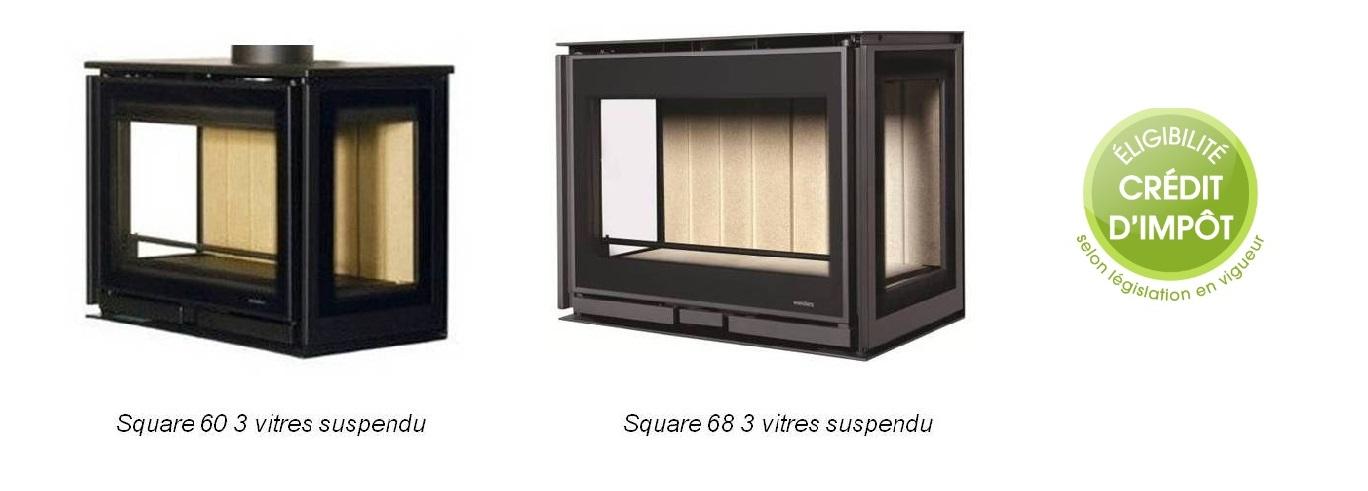 ets bonnel po le bois square 60 et 68 suspendu 3 faces wanders. Black Bedroom Furniture Sets. Home Design Ideas
